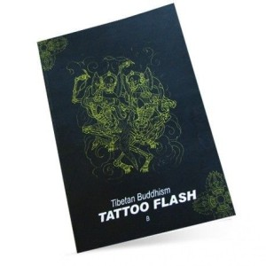 BOOK TIBETAN BUDDHISM TATTOO FLASH B