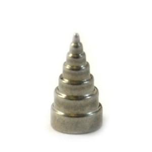 Formas cones de aço tipo C