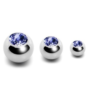 Ball steel with jewelry 1.6 mm