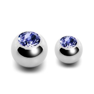 Ball steel with jewelry 1.2 mm.