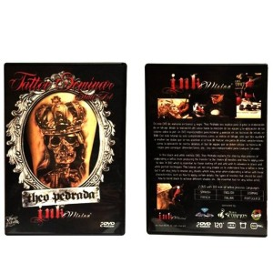 "DVD Seminario-Curso ""SKULL ART""- THEO PEDRADA"