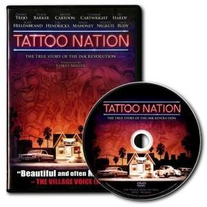 DVD - TATTOO NATION - a história da tatuagem