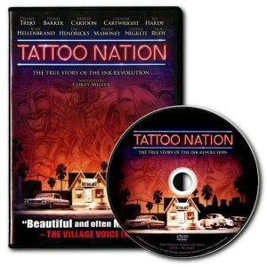 DVD - TATTOO NATION - the history of tattoo