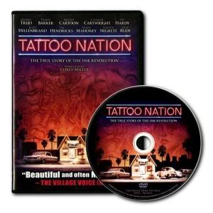 10 DVD - TATTOO NATION - the history of tattoo