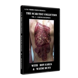 DVD scarification - The Scar-Tist Collection English