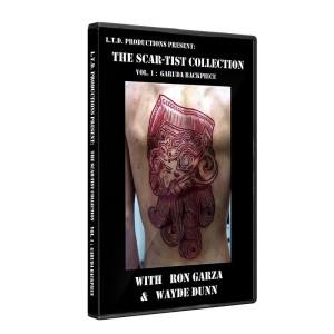 Scarificazione DVD - The Scar-Tist collezione inglese