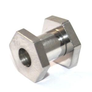 Dilatador de aço rosqueada