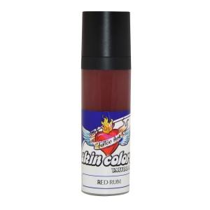 Pele de tinta cores vermelho Rum 30 ml.