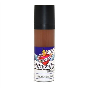 Pele de tinta cores indiano marrom 30 ml.
