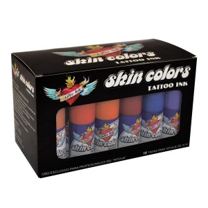 Lot 18 die pelle colori
