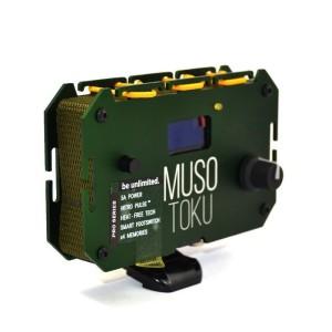 Fonte de energia verde MUSOTOKU com suporte