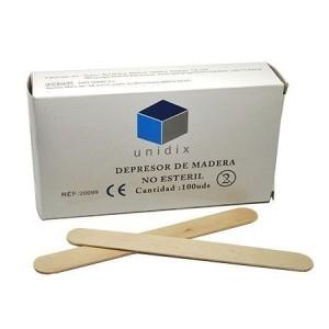 Depresores de madera estériles