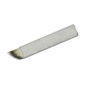 10 Nadel-Microblading - 7 Single gekrümmte Linie