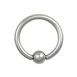 Hoop with ball 1.0 mm.