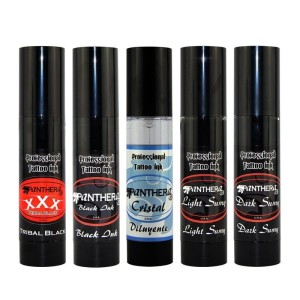 Lot de 5 Panthera encres de 150 ml