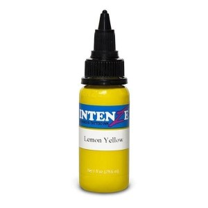 Intenze Lemon yellow 1oz