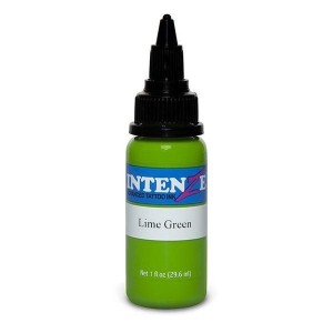 Intenze Lime green 1oz
