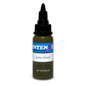 Intenze exército verde 1 oz