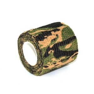 Camouflage green elastic band for grips