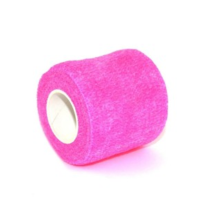 Grips pink elastic band
