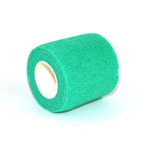Grips green elastic band
