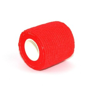 Grips red elastic band