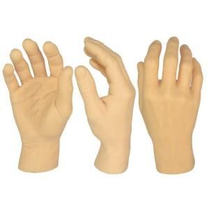 Tatouage de main droite de silicone