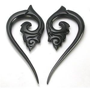 Horn Carved Spiral