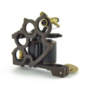 Titanium tattoo machine - Knucle Cooper - filling