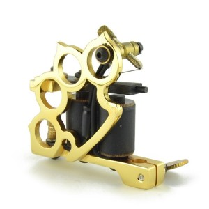 Titanium tattoo machine - Knucle Gold - Relleno