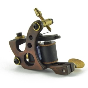 Titanium tattoo machine - Circle Cooper - filling