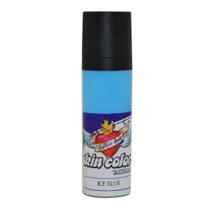 Pele de tinta cores azul 30 ml de gelo.