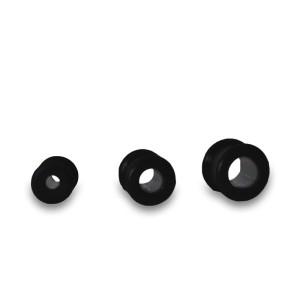 Dilatateur souple en silicone - noir