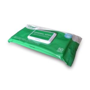 Clinell Universal - 40 Einheiten, die Desinfektion von Oberflächen wischt